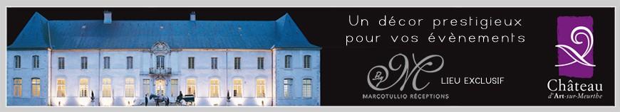 Château d'Art sur Meurthe - Lieu exclusif Marcotullio